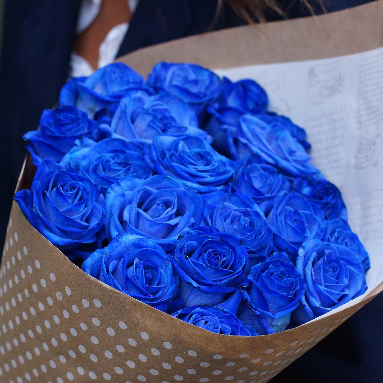 огромные букеты синих роз картинки
